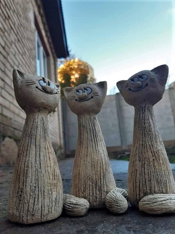 """Фигурка """"Котик""""(высокий) №2"""