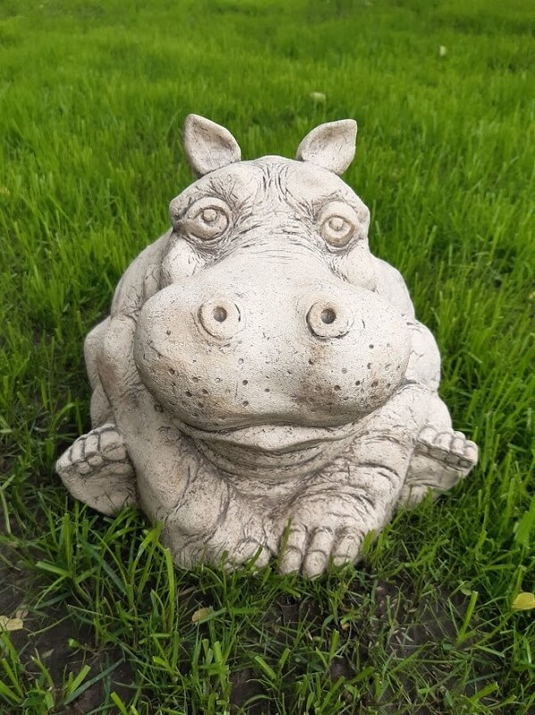 Садовая фигура Бегемот