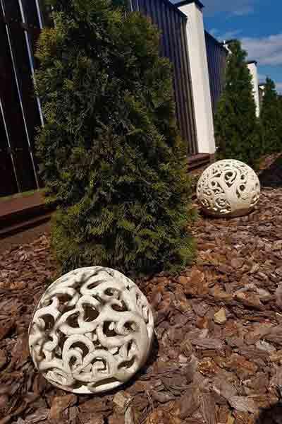 """Оригинальный декор для сада """"Шар-2 дерево"""""""