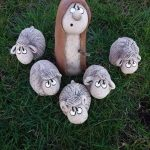 Садовые фигурки в виде животных