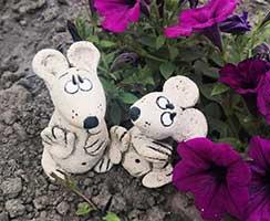 скульптурка Мышки